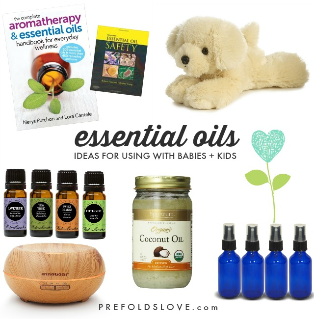 How to Use Essential Oils Safely on or around Babies + Young Kids