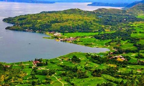 Tempat wisata pulau sibandang