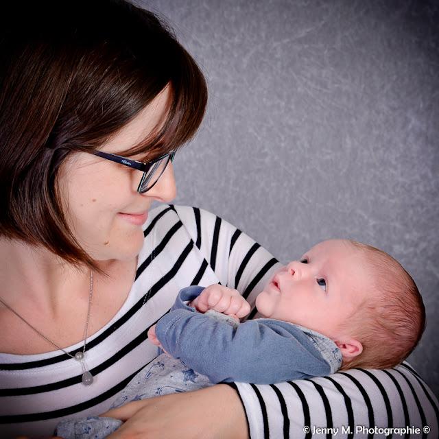 portrait maman avec bébé