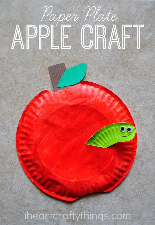 Apple Craft Projects For Preschoolers