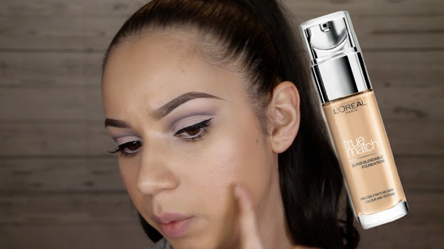 L'Oreal True Match foundation - Review & Wear Test