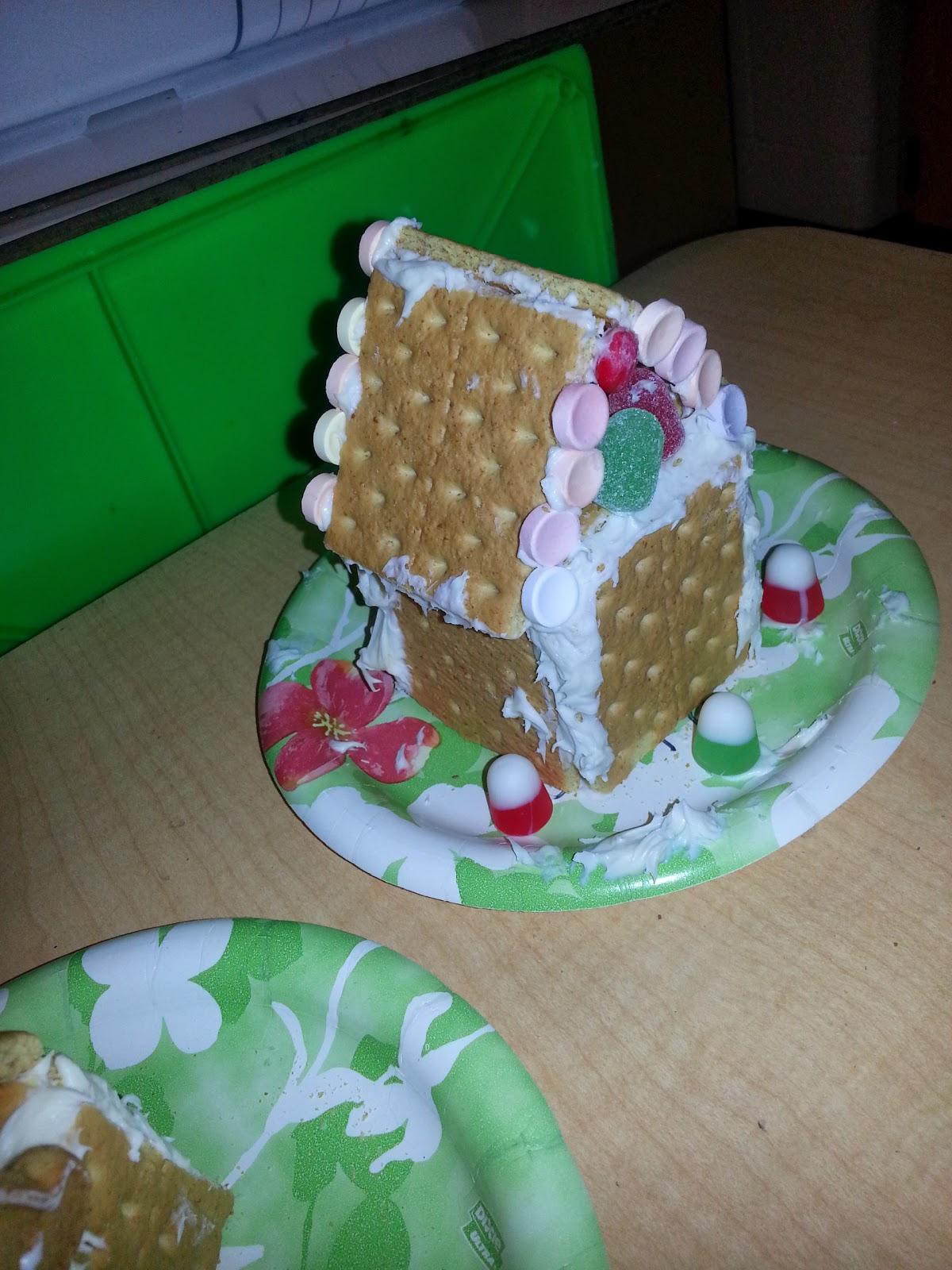 Kindergarten Cafeteria A Little Elf And Gingerbread House