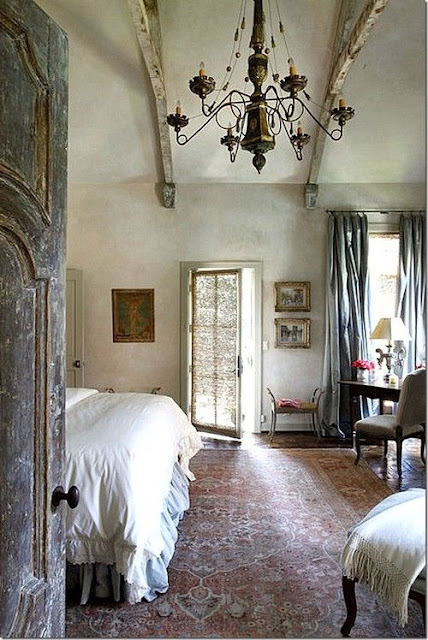 French inspired Bedroom by Eleanor Cummings