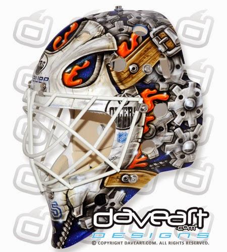 I Love Goalies!: Viktor Fasth 2013-14 Mask