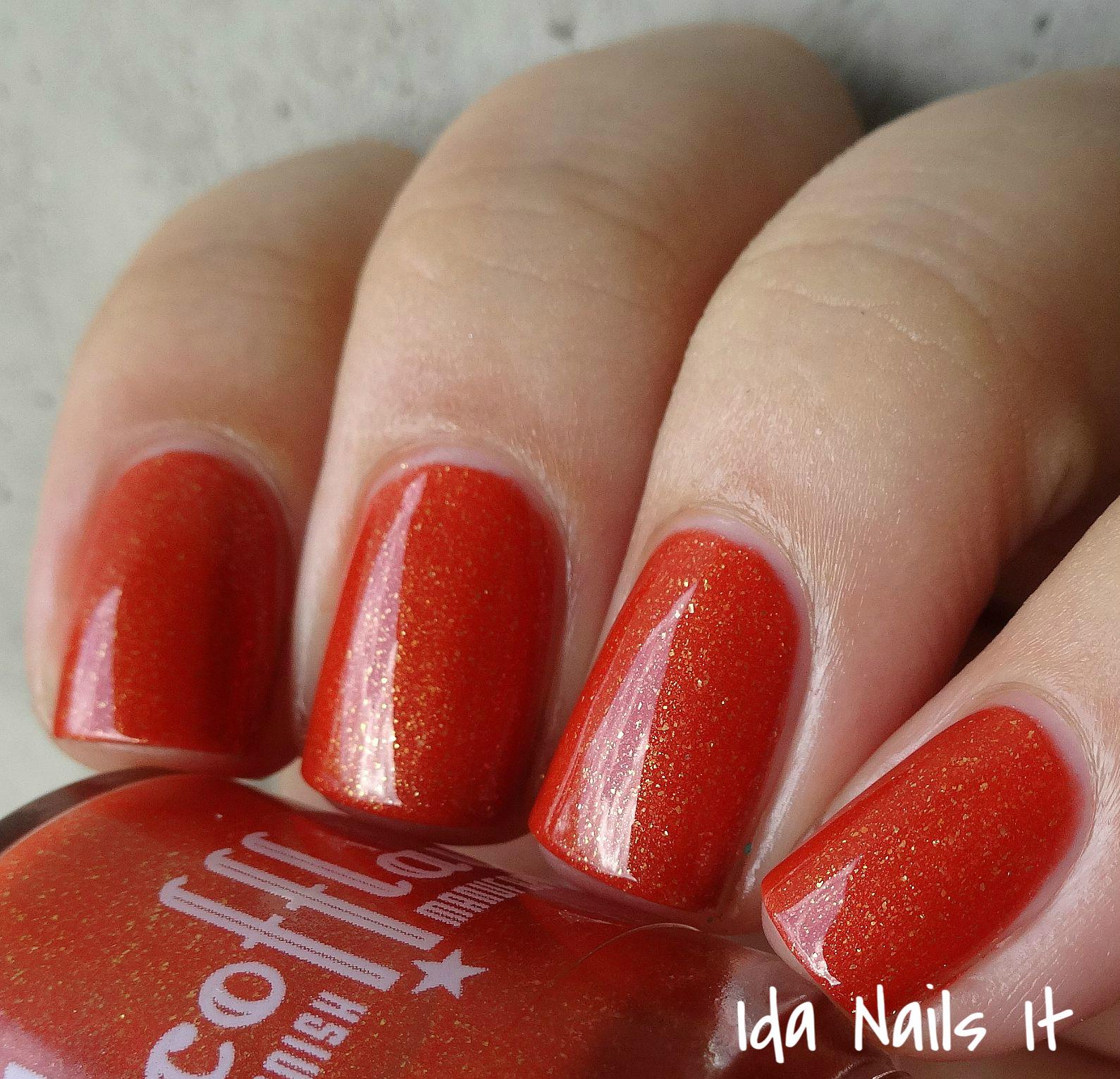 Ida Nails It: Scofflaw Nail Varnish Fall/Autumn 2015
