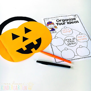 We love reading and learning about Halloween in our kindergarten classroom, but planning meaningful comprehension activities can be a challenge. This Halloween: Read & Respond pack made it super easy to teach 5 comprehension skills for 5 of our favorite picture books. Students especially love the themed crafts and writing prompts too!