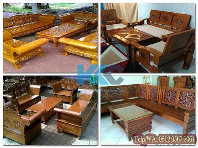 Jasa Pembuatan Furniture Meja Tamu