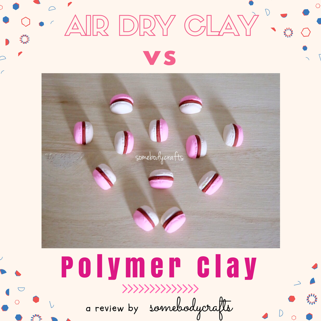 air dry clay vs polymer clay somebodycrafts