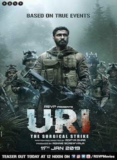Uri The Surgical Strike (2019) Official Poster