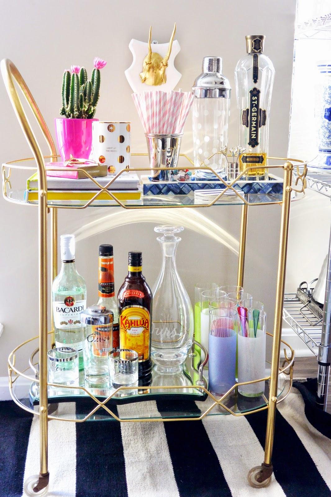 Build A Better Bar Cart