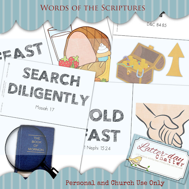 Latter-day Chatter: {Sharing Time} We Are To Feast Upon