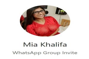 21+ Mia Khalifa WhatsApp Group Link Of 2019