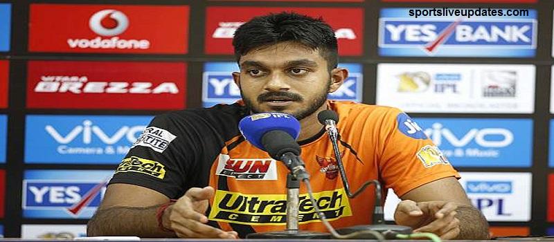 Never expected India Call Said Vijay Shankar