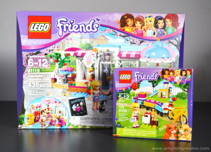 LEGO Friends Party Ideas at artsyfartsymama.com