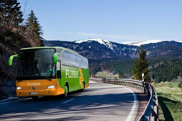 De ônibus de Munique a Berlim