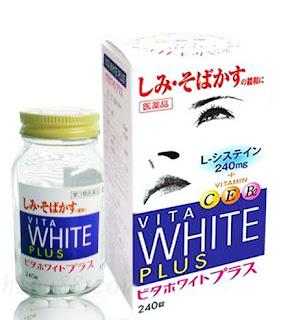 Viên uống vita white plus trị nám da