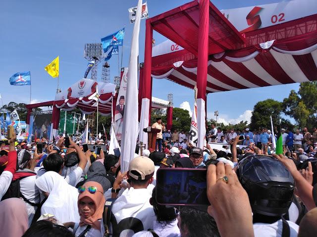 Pendukung Hadiri Kampanye Tanpa Dibayar, Prabowo: Alhamdulillah, Rakyat Jateng Juga Ingin Perubahan