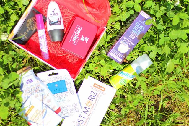 состав коробочки красоты Fashion Collection Beauty Box