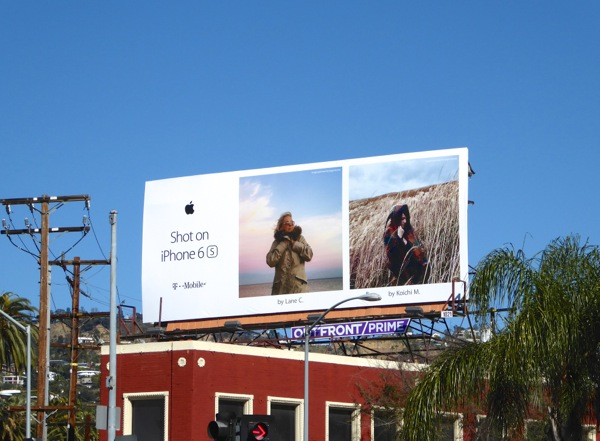 Apple Shot on iPhone 6s billboard