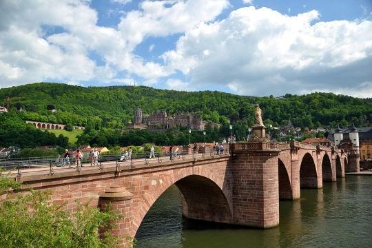 Old Bridge Heidelberg, Baden-Württemberg