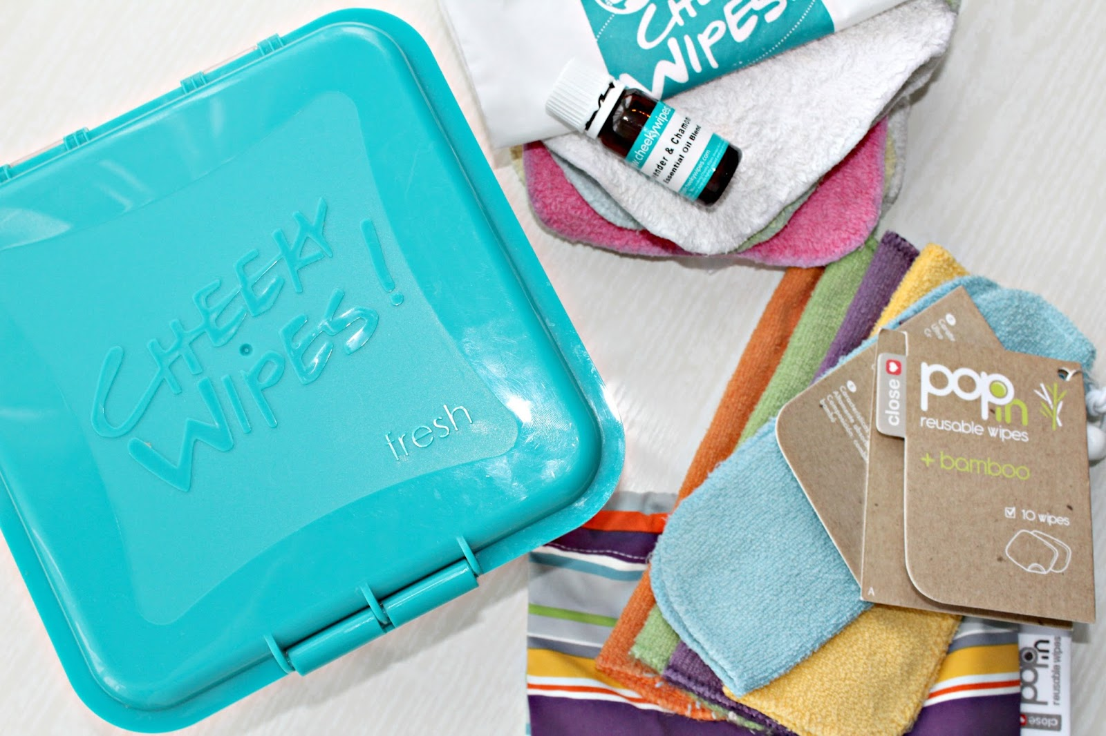 Greener alternatives to baby wipes: Close parent and Cheeky wipes (reusable cloth wipes) review