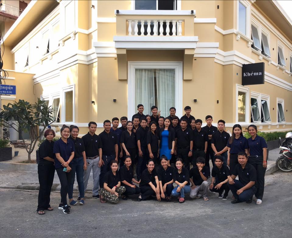 Cambodge Phnom Penh Kh 233 Ma Bient 244 T Kh 233 Ma La Poste