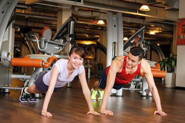 voucher giảm giá tập gym