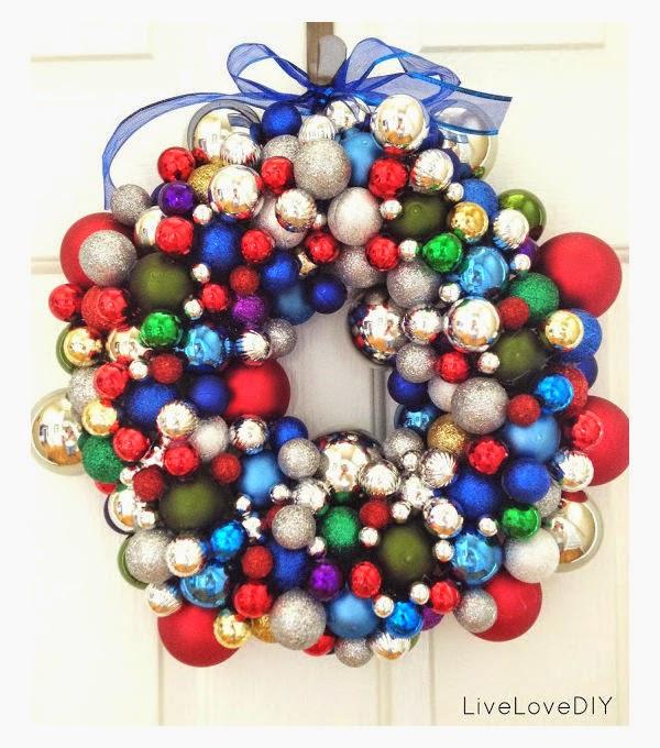 corona-navideña-esferas