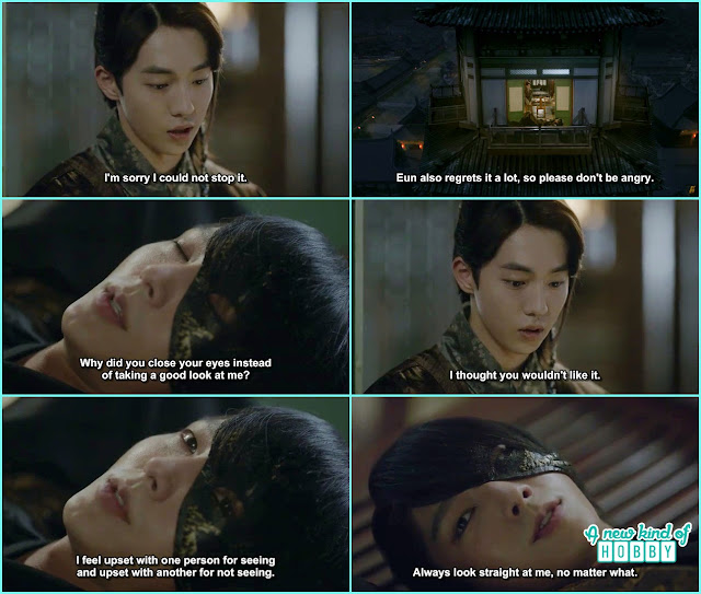 4th Prince toh he laready forgive 10th prince and askhim to see on his face when something happen - Moon Lover Scarlet Heart Ryeo - Episode 8 - Review