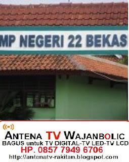 Jual ANTENA TV WAJANBOLIC  Bintara 17 Bekasi- SMP 22 BEKASI