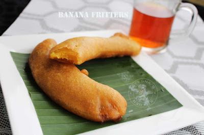Easy banana fritters recipe