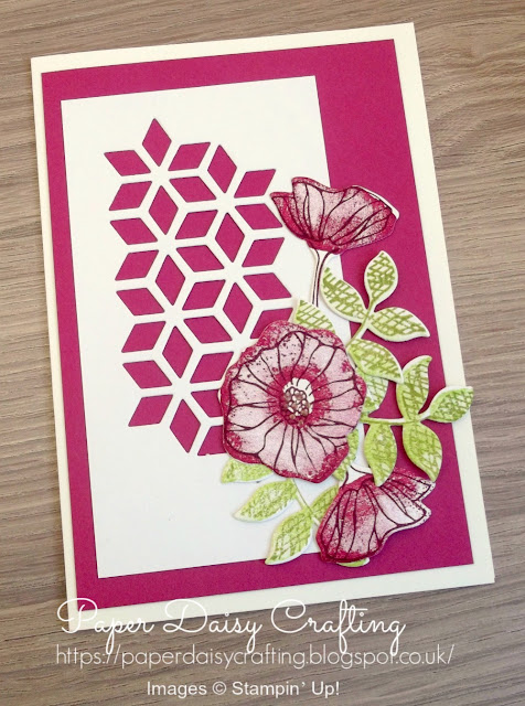 Oh so Eclectic from Stampin' Up - handmade card