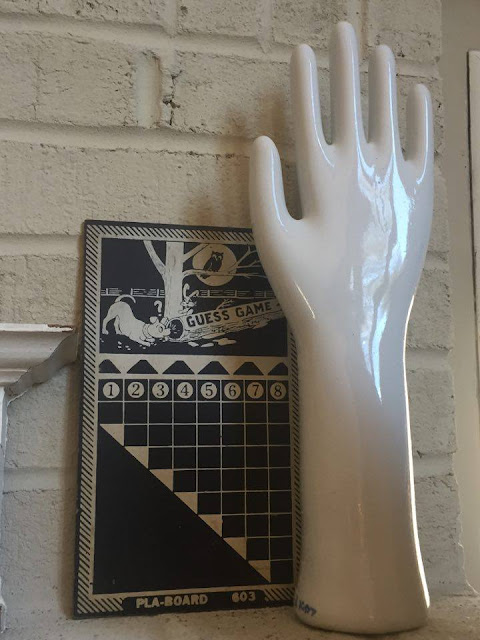 vintage porcelain Glove Mold at retrochalet on Etsy