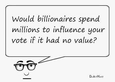 value of votes