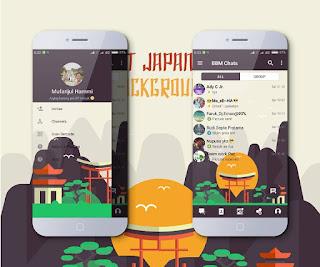BBM Mod MI-Japan Landmark V3.3.1.21 Apk