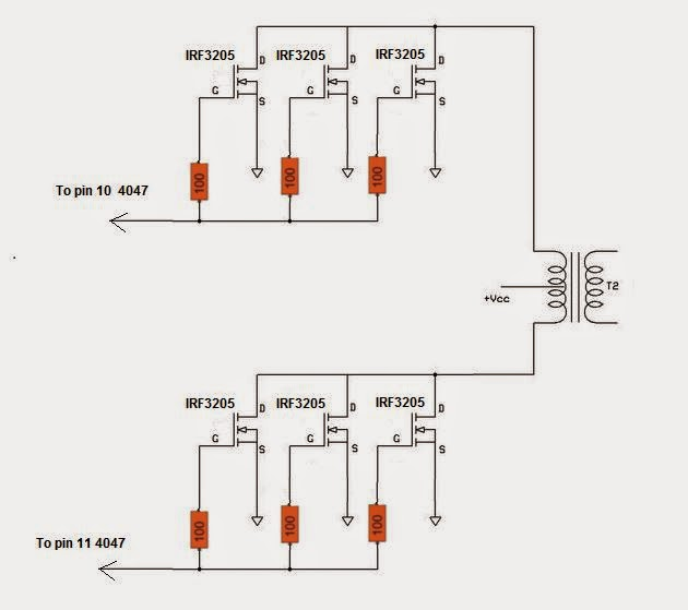 The Krell Lab: Pure Sine Wave Inverter with IC 4047
