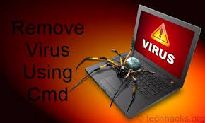 How to remove computer virus using command prompt(CMD)
