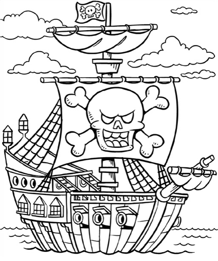 pitate coloring pages | 07/01/2013 - 08/01/2013 - Colouring for Kids