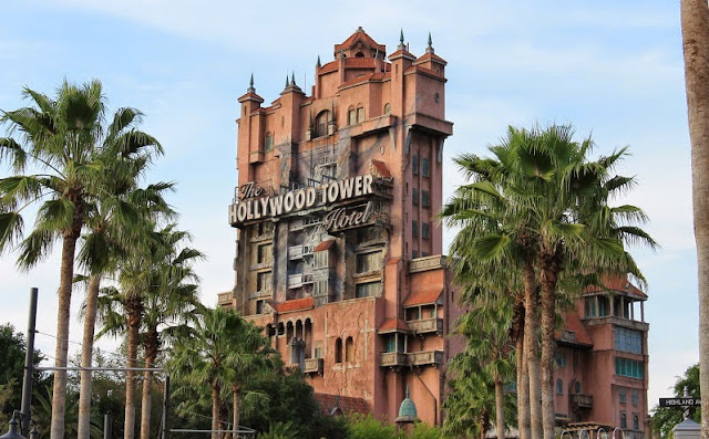 Torre do Terror no Hollywood Studios em Orlando