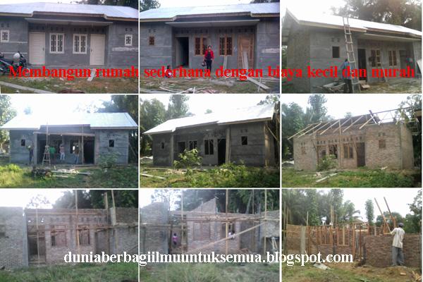 perhitungan bahan dan biaya membangun rumah minimalis tipe 36