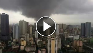 Watch: Tornado Wreaks Havoc in Manila