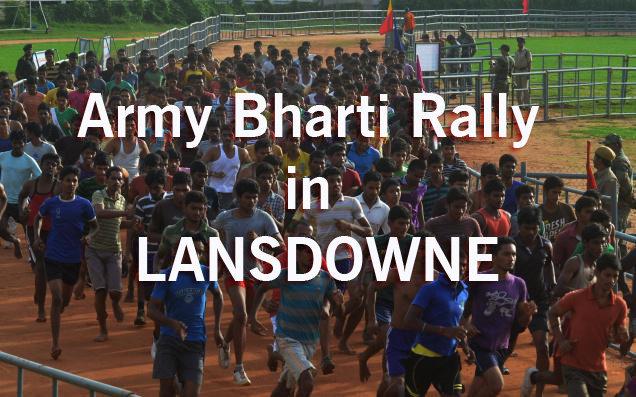 Garhwal Rifles Bharti Rally in Lansdowne Uttarakhand (07 Nov 2017)