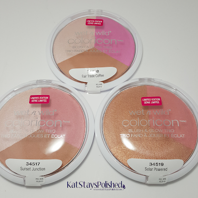 wet n wild coloricon - blush & glow trio - Silver Lake 2015 | Kat Stays Polished