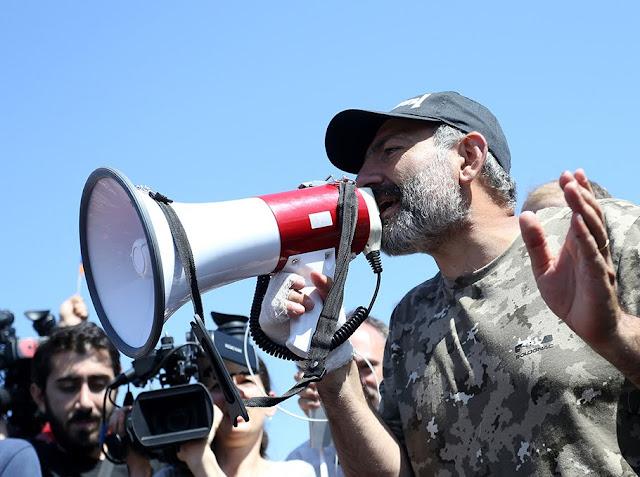 Armenia cubierta por una nueva ola de protestas