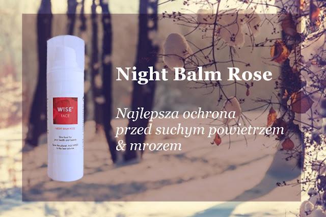 Ekologiczny balsam ochronny Night Balm Rose