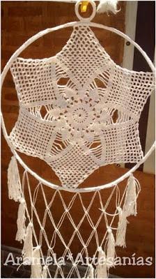 mandala crochet grande