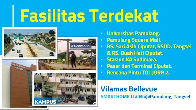 Fasilitas Terdekat Vilamas Bellevue