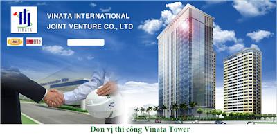Đơn vị thi công chung cư Vinata Tower