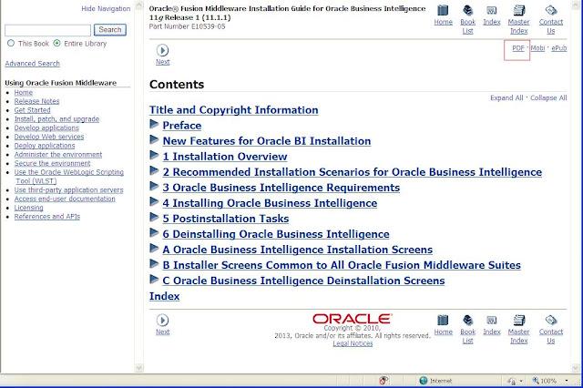 Oracle Business Intelligence (BI) Blog: PDF dumps for OBIEE