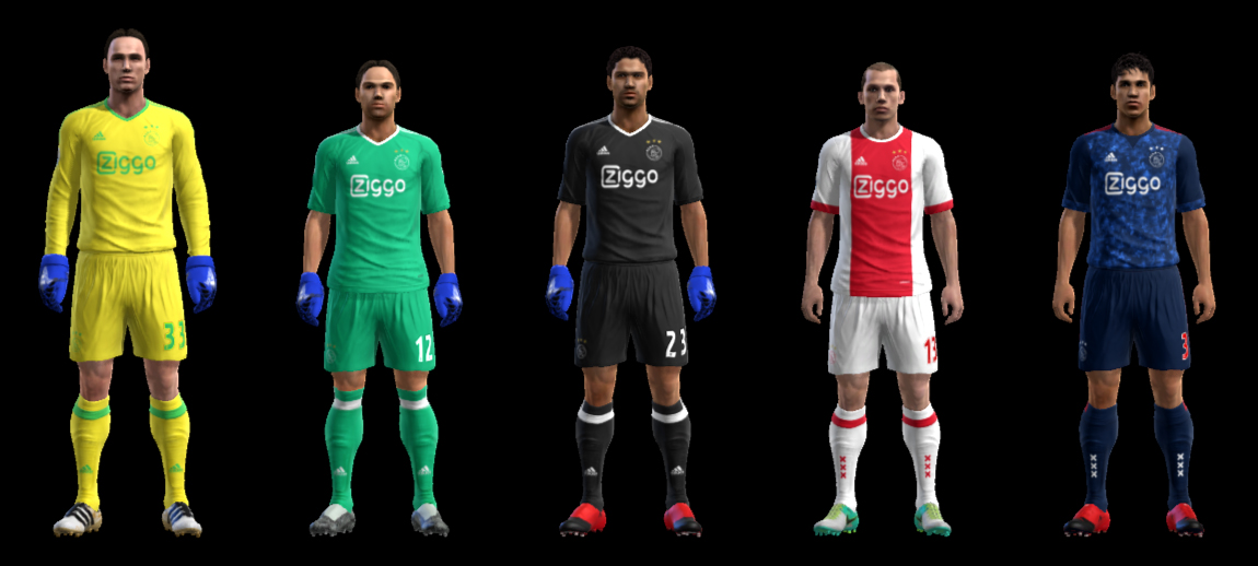 PES 2013 Ajax GDB 2017-2018 by ABIEL